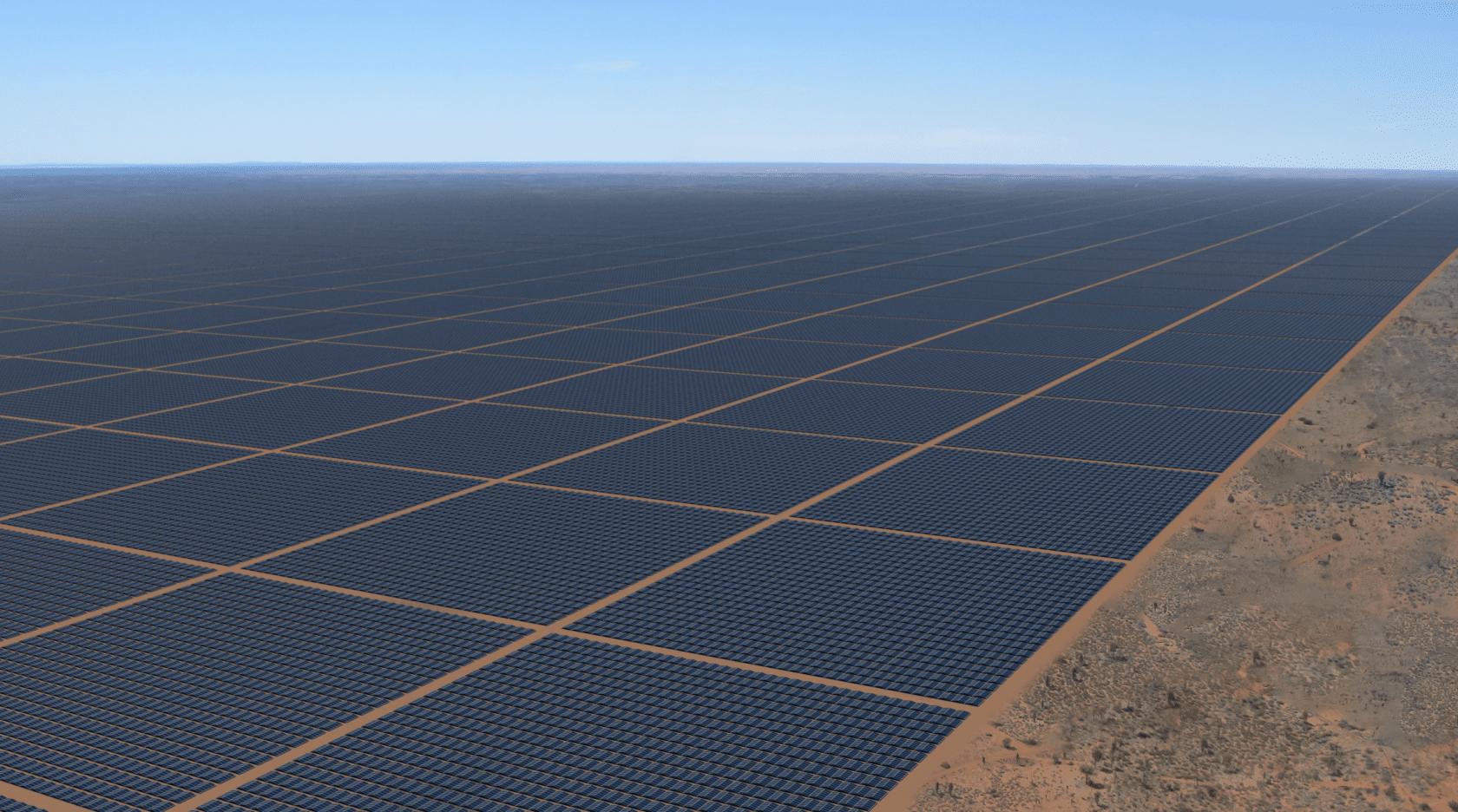 Sun Cable Solar Farm